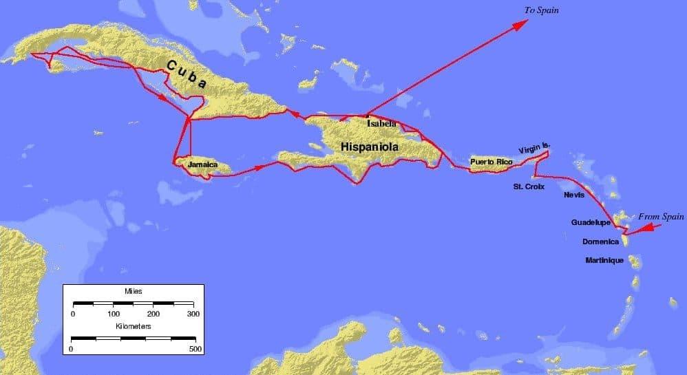 Cristóbal Colón: biografia, viajes, barcos, muerte, y mucho mas