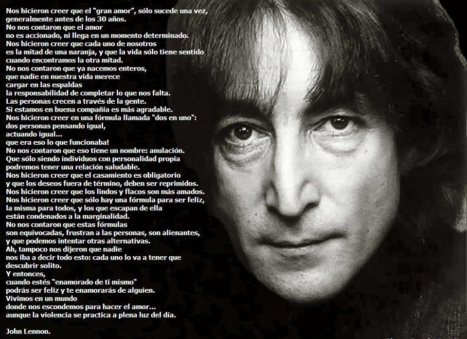 John Lennon Biografía Frases Beatles Hijos Y Mucho Mas