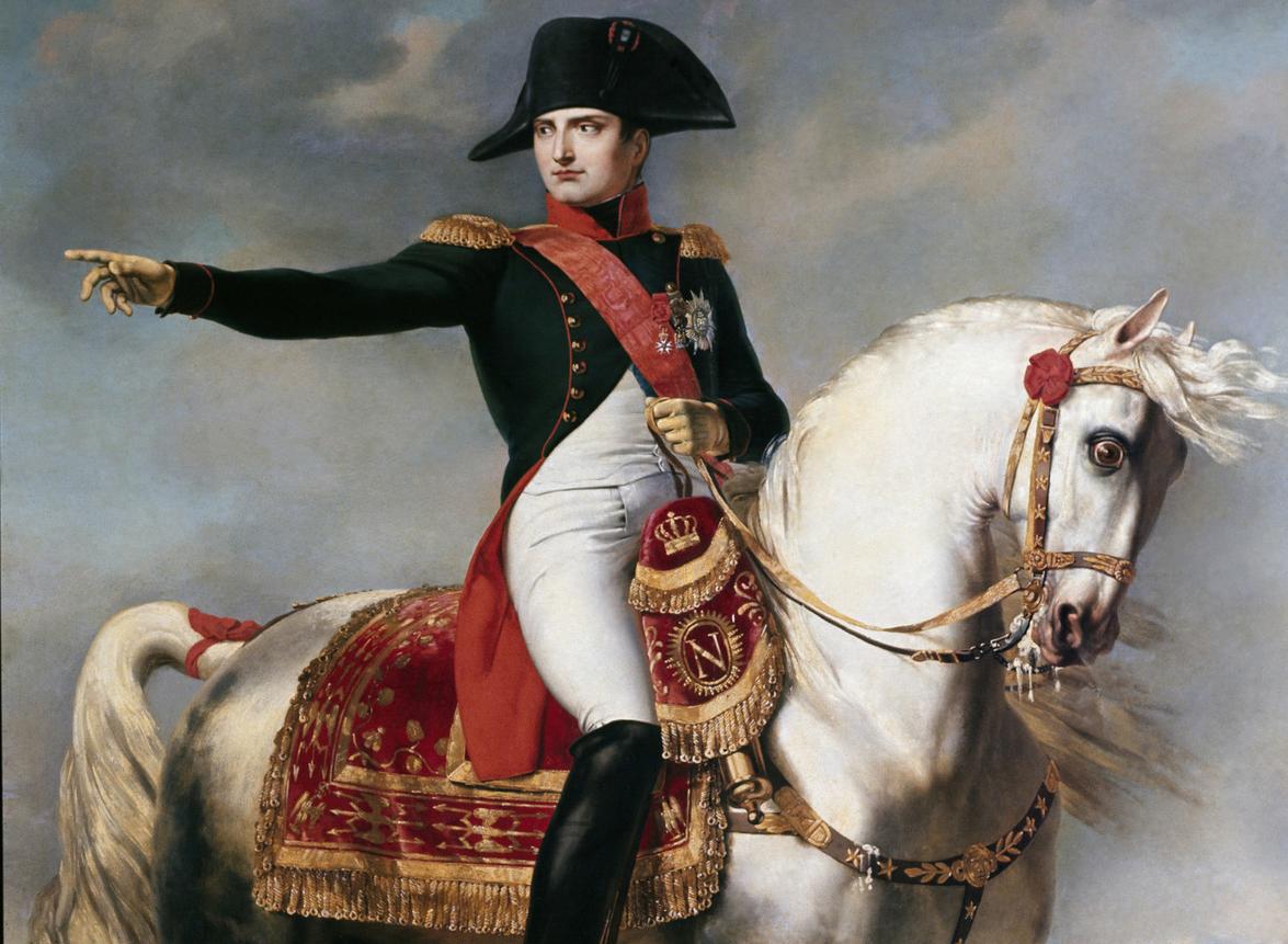 Napoleón Bonaparte. Francia