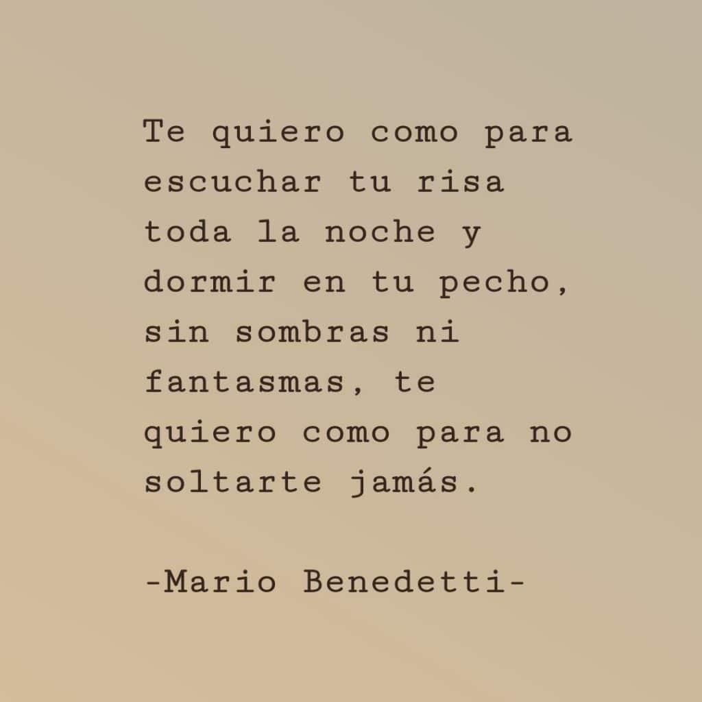 Mario Benedetti Frases De Amor En Ingles Muharram Q