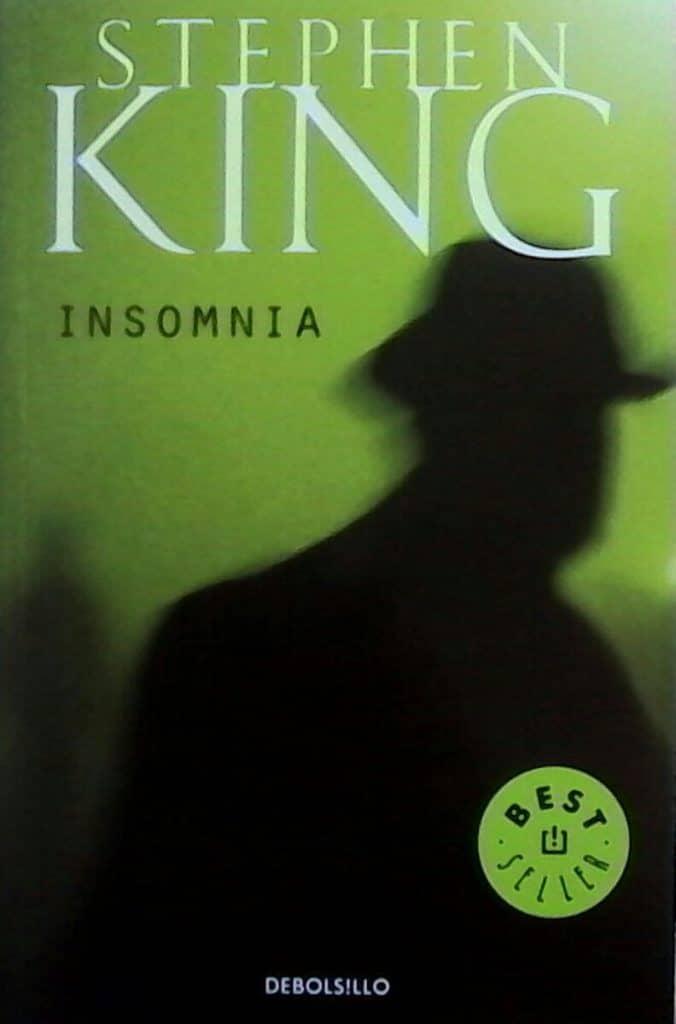 portada del libro insomnia de Stephen King