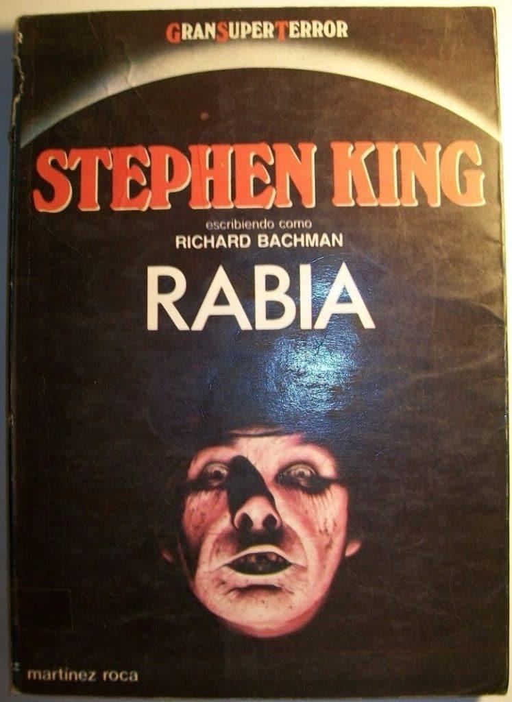 portada del libro RABIA, de Stephen King