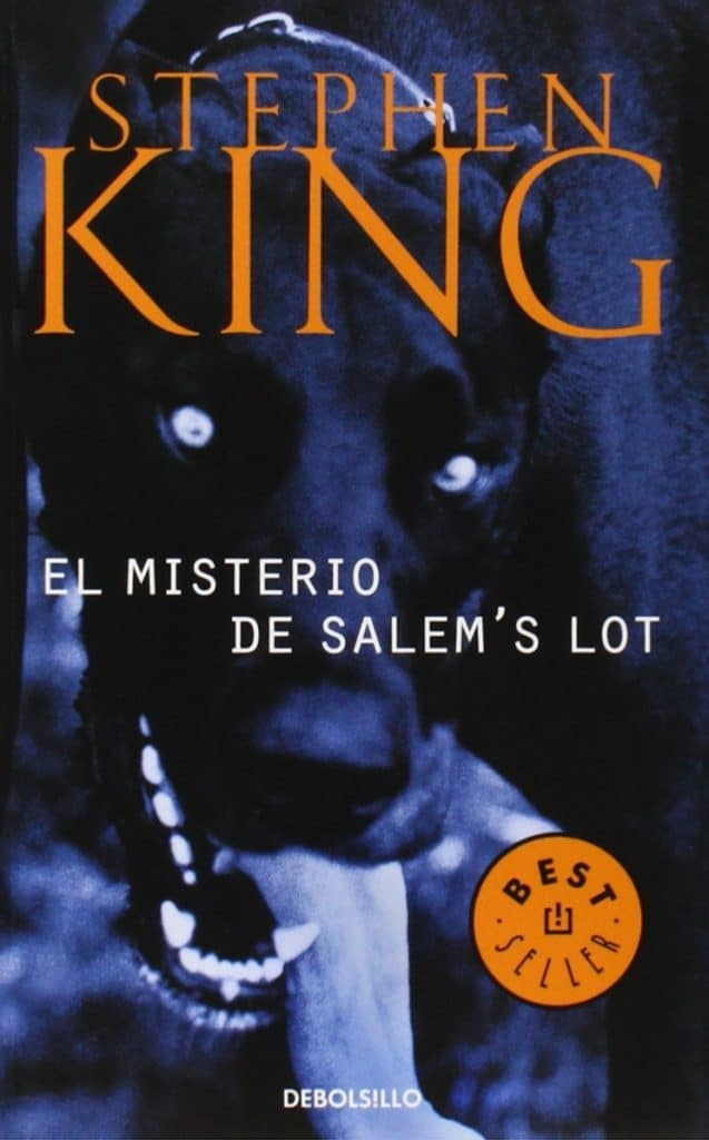 portada del libro SALEM, de Stephen King