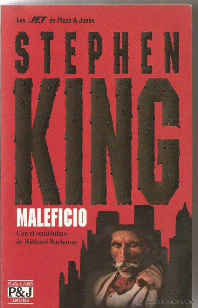 portada del libro maleficio de Stephen King