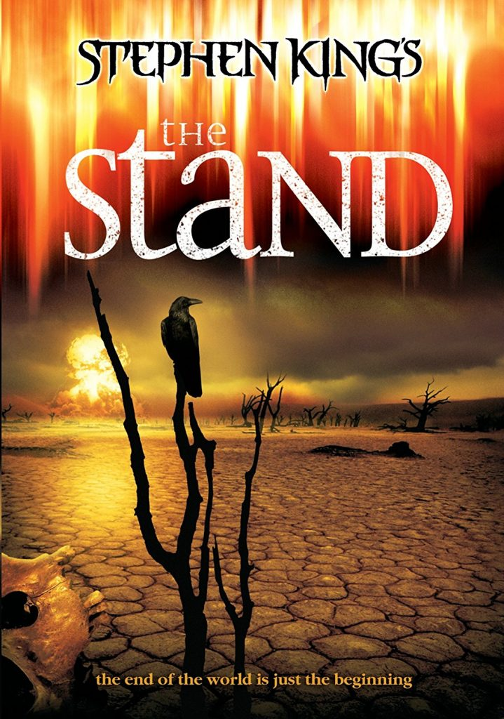 portada del libro the stand del autor Stephen King