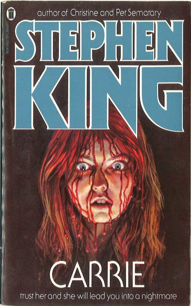 portada del lirbo carrie, del autor Stephen King