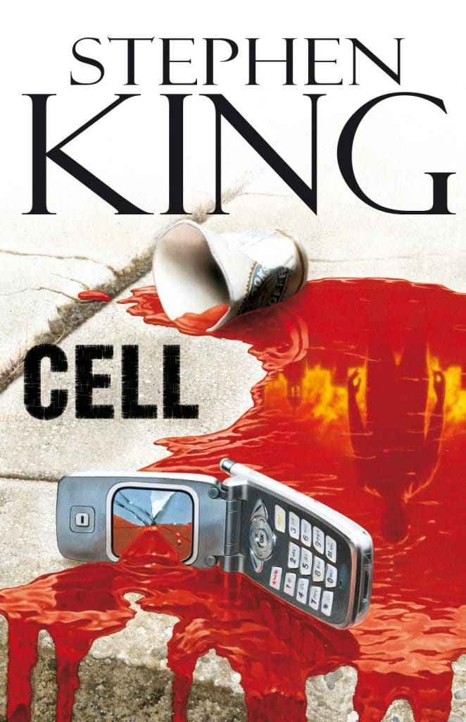 portada del libro cell de Stephen King