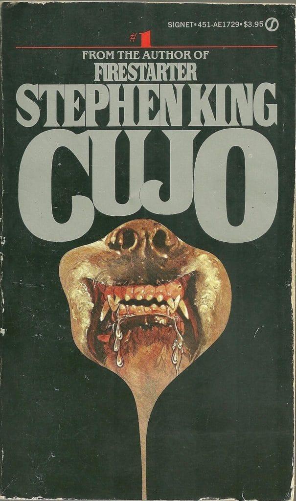 portada del libro cujo de Stephen King