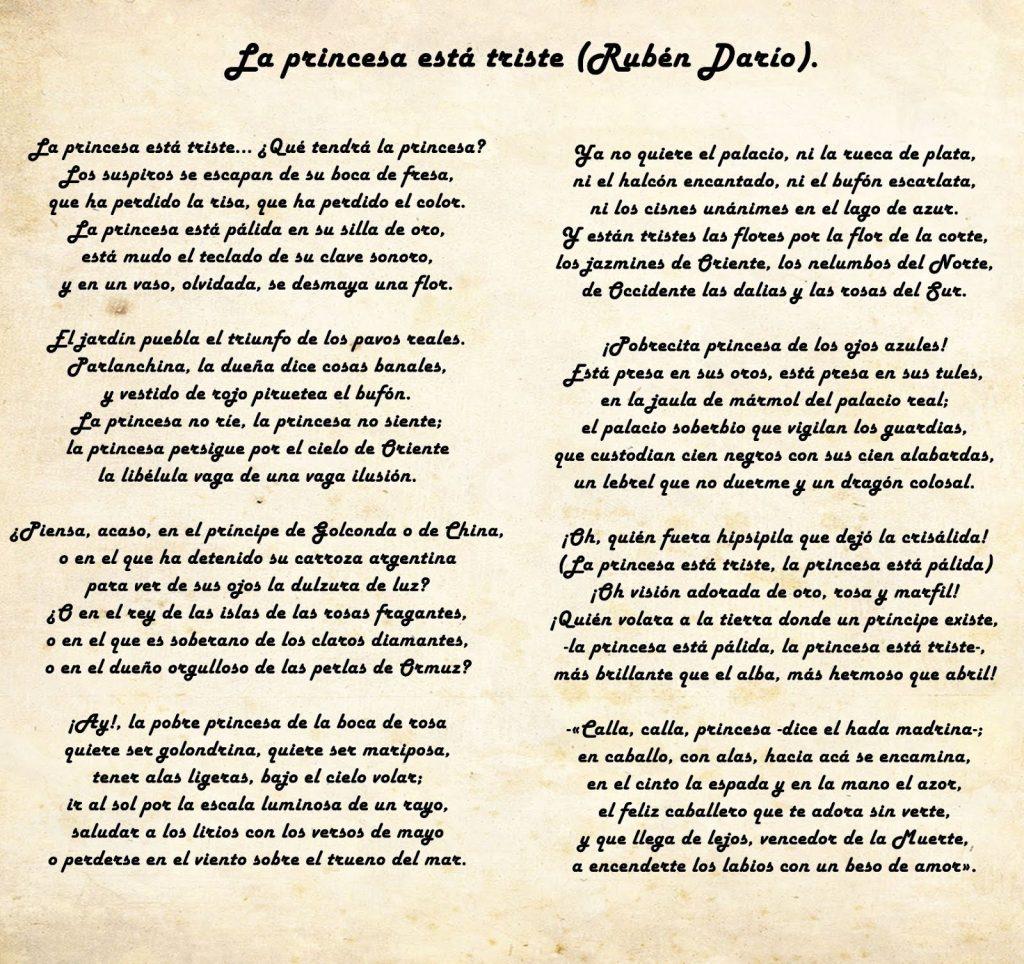 Rubén Darío Biografía Características Poemas Y Más