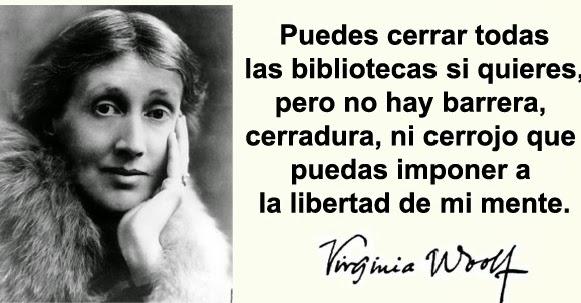 Virginia Woolf Biografía Libros Cartas Y Mucho Más