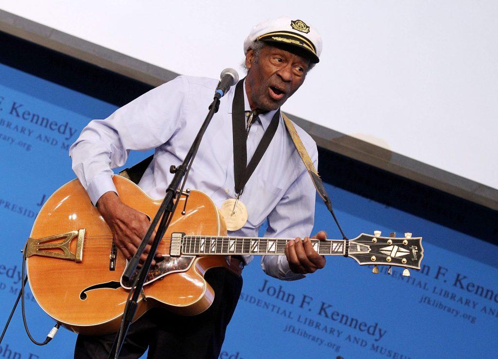 Chuck Berry y la guitarra