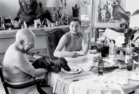 pareja Picasso-Roque