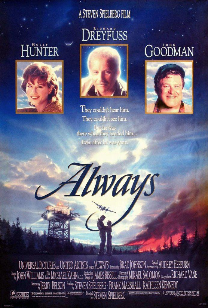 Always; pelicula de Steven Spielberg