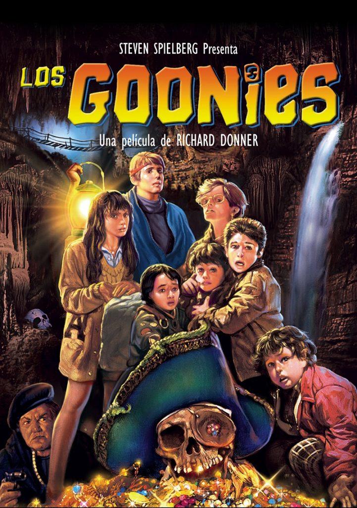 Los Goonies pelicula de Steven Spielberg