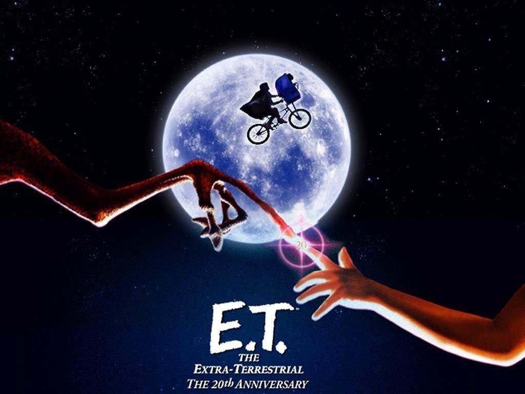 E.T el extraterrestre de Steven Spielberg