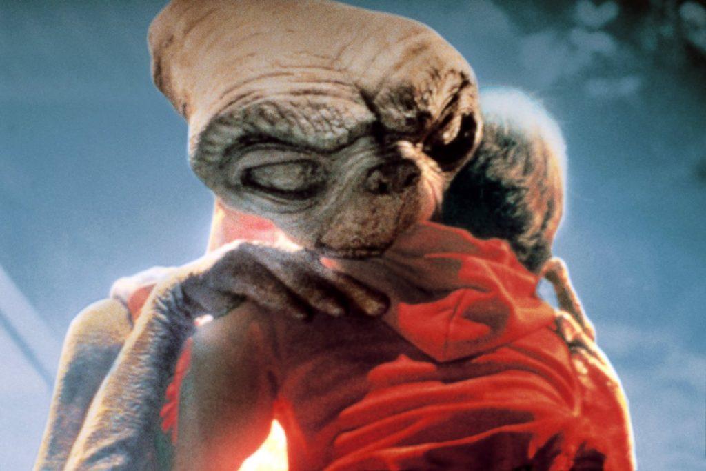 Despedida de elliot y E.T