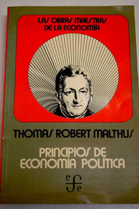 principios de la economia politica