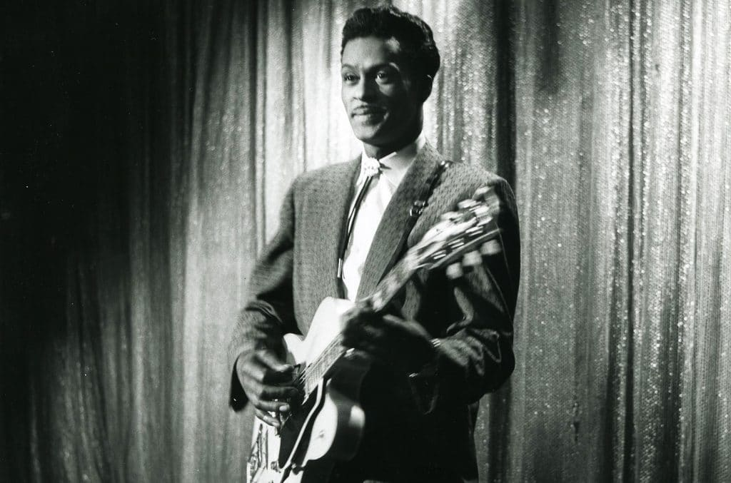 chuck berry en la pelicula 'Rock, Rock, Rock!' (Will Price, 1956)
