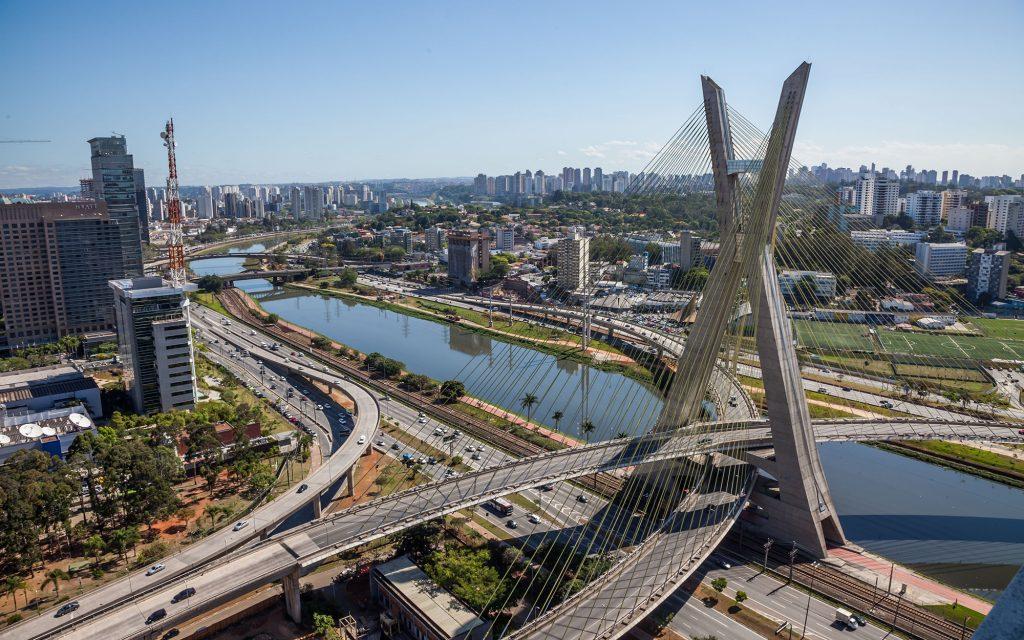 vista panorámica de la ciudad de sao paulo