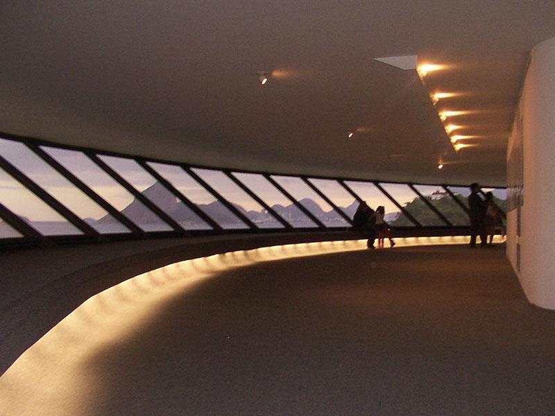 vista desde el observatorio del museo de arte contemporaneo