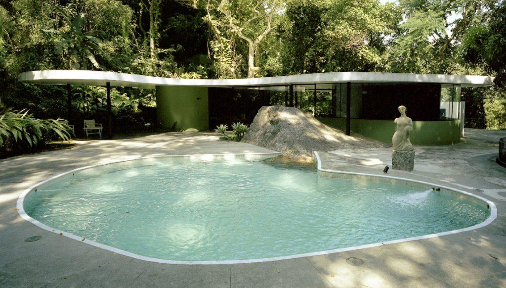 casa das canoa, obra de oscar neimeyer