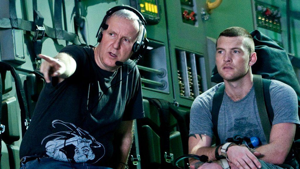James cameron en la producción de Avatar