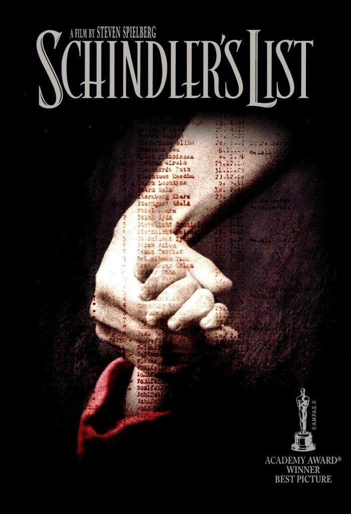 La lista de Schindler de steven spielberg