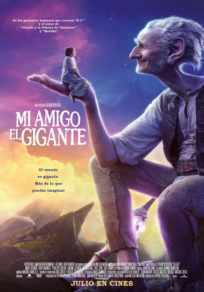 Mi amigo el gigante, pelicla de steven spielberg