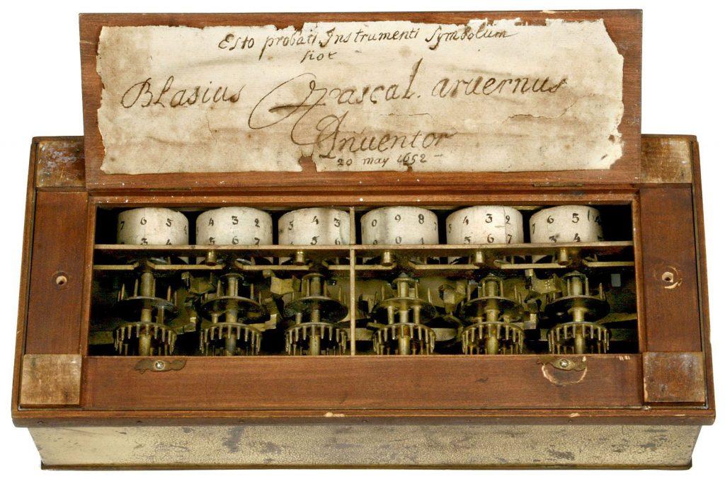 inventos de pascal: Pascalina