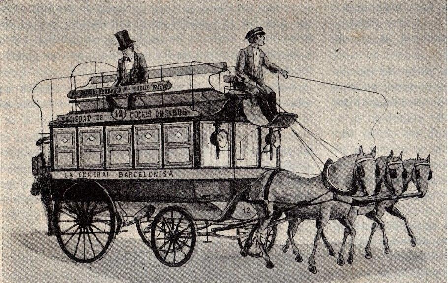 inventos de pascal: Los carruajes colectivos
