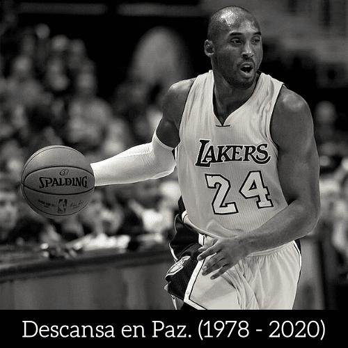 Descansa en Paz Kobe Bryant