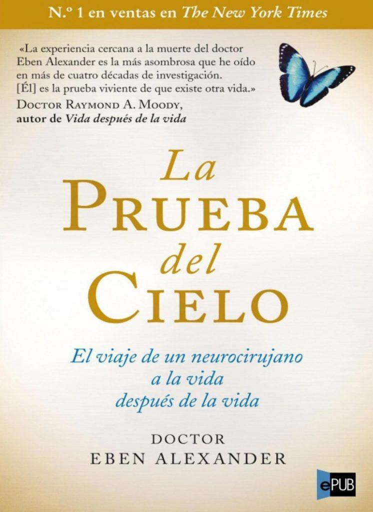 """portada del libro """"la prueba del cielo"""""""