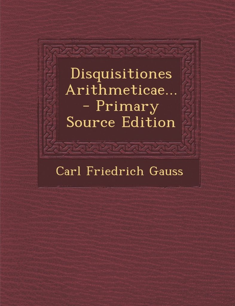 Gauss libros