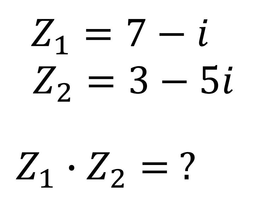 ejemplos de números complejos