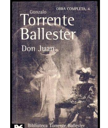 Libro Don Juan de Gonzalo-Torrente-Ballester
