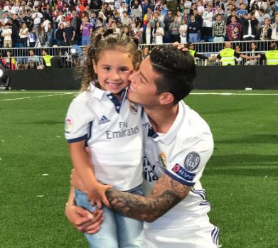 James Rodríguez Biografía Daniela Real Madrid Goles Y Mucho Mas