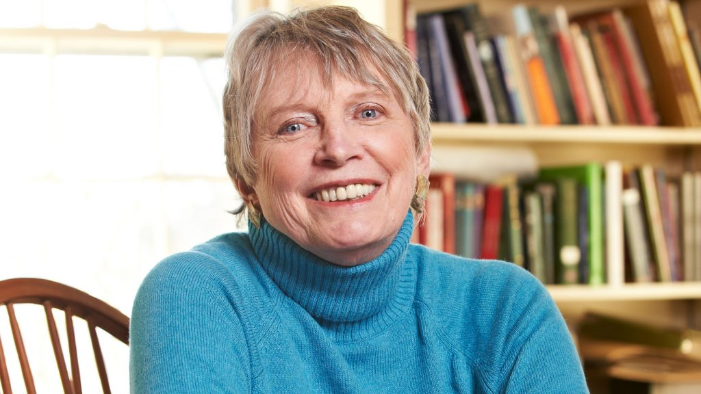 la escritora Lois Lowry