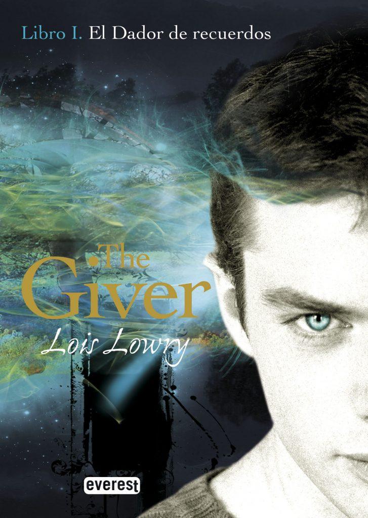 """portada del libro """"el dador"""""""