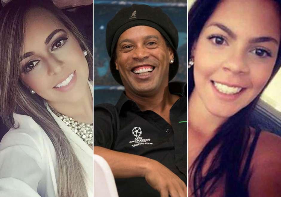 el increíble Barça tiene dos compañeros de vida, Priscilla Coelho y Beatriz Souza