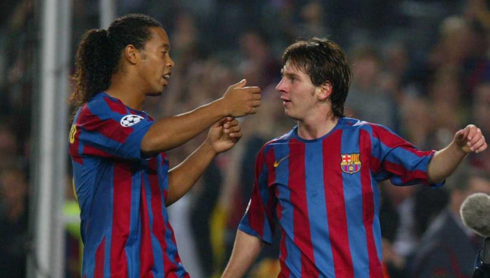 ¿Cómo se conocieron Ronaldinho y Messi?