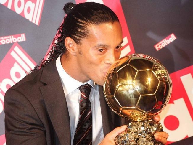 Balón de oro de Ronaldinho