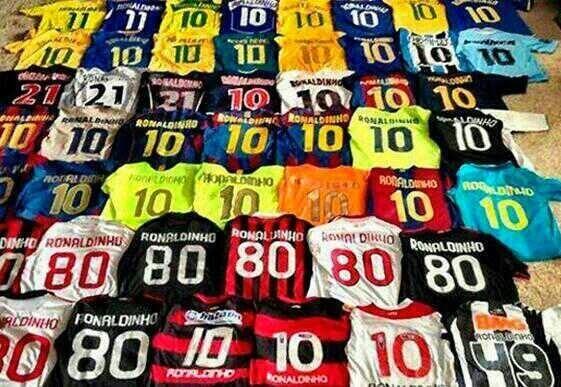 Equipos en los que Ronaldinho ha participado