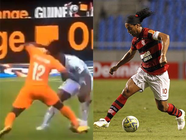 La elástica de Ronaldinho