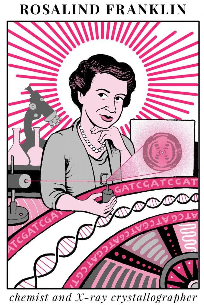 Rosalind Franklin Biografía Adn Frases Aportes Y Más
