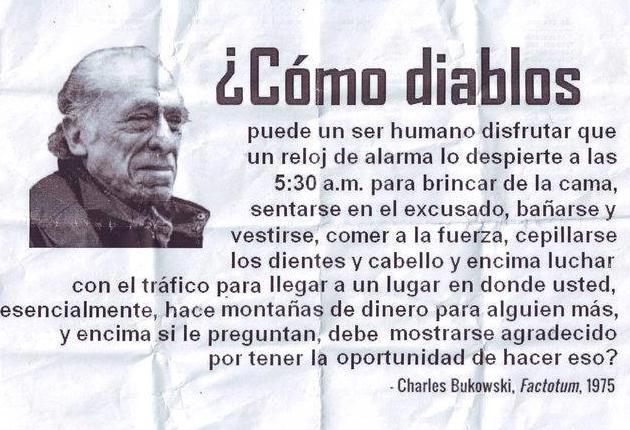 Charles Bukowski Vida Frases Libros Poemas Y Más