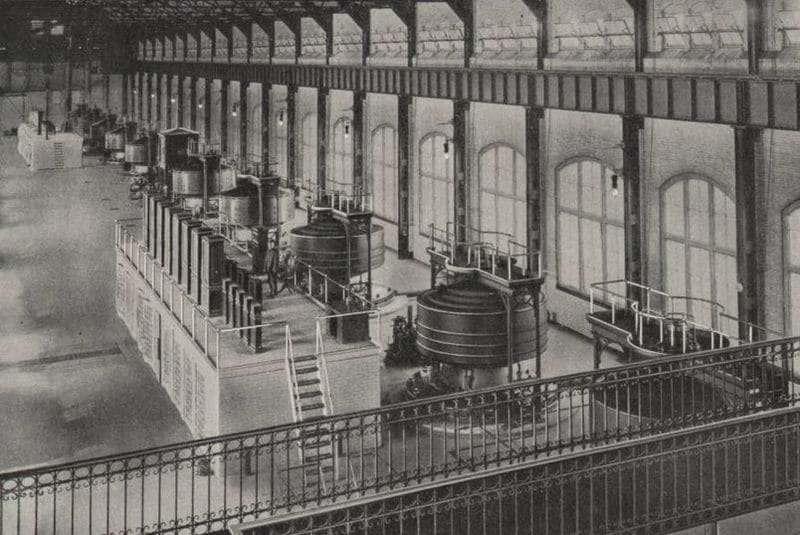proyecto cataratas del niagara George Westinghouse